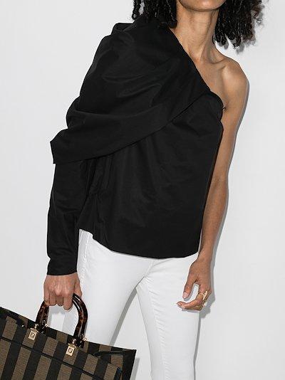 Forgotten Promises Asymmetric blouse