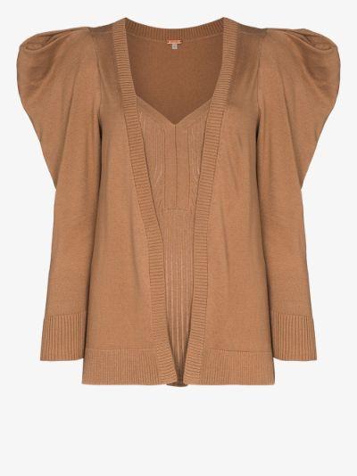 Inca cardigan and bodysuit set