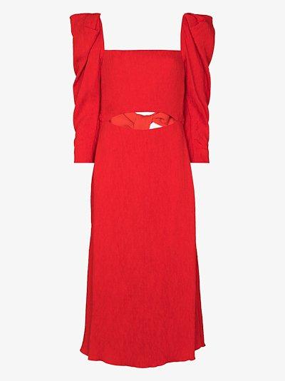 Lady of Heaven pouf sleeve dress