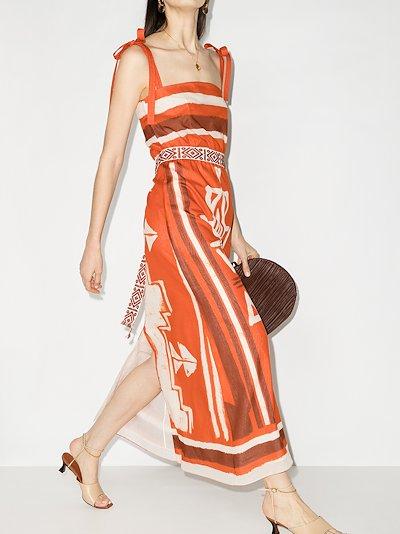 Regions Of Myth printed maxi dress