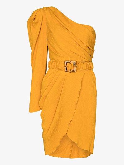 Shining Sun one shoulder dress