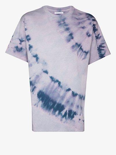 purple University tie-dye T-shirt