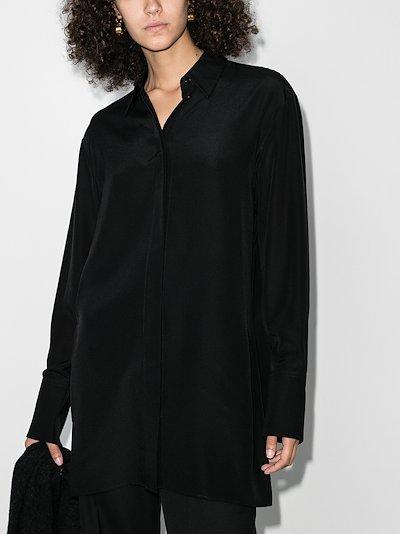 Bene classic silk shirt