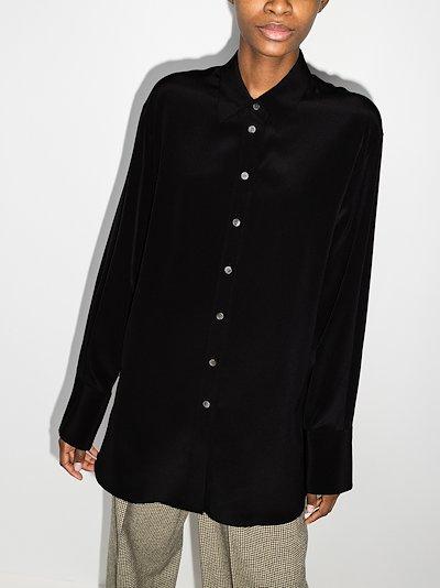 Brooks silk shirt