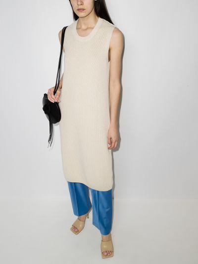 Dawson knitted cotton dress