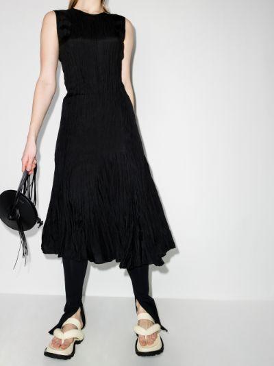 Desvigne silk midi dress
