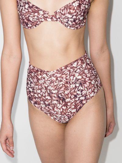 Cole floral print bikini bottoms