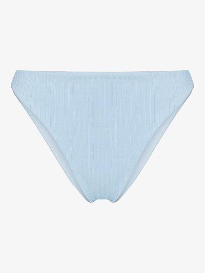 Edie ribbed bikini bottoms