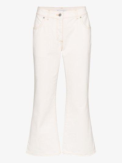skinny flared jeans