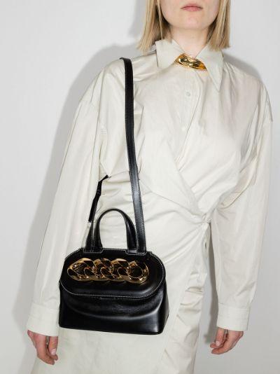 small Chain Lid basket bag