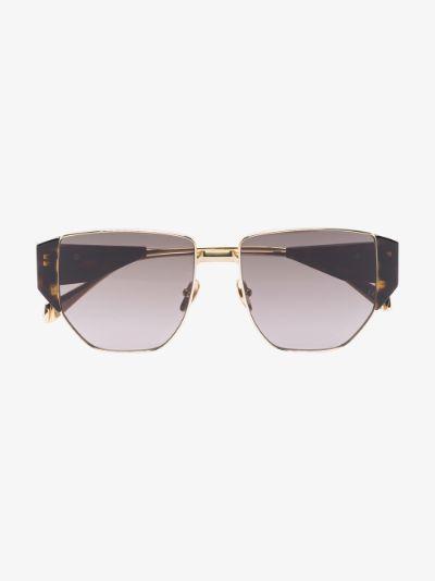 black Beane tortoiseshell sunglasses