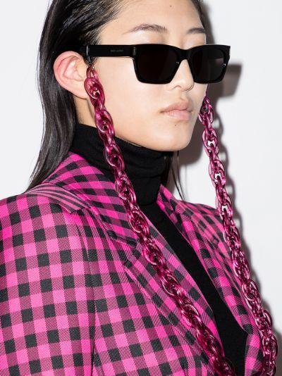 pink sunglasses chain