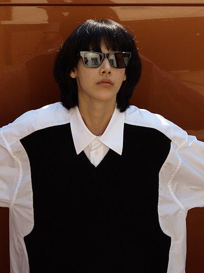 black harper square sunglasses