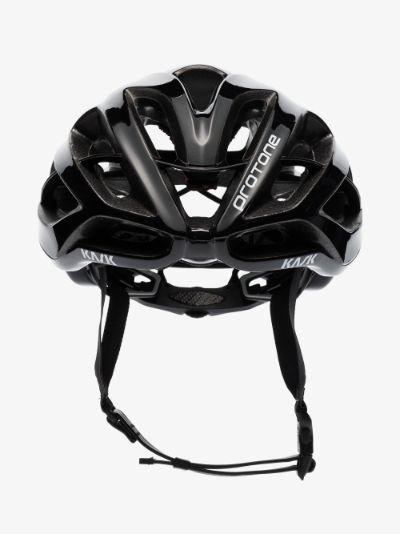 black Aero Protone cycling helmet