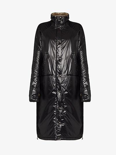 patent puffer coat