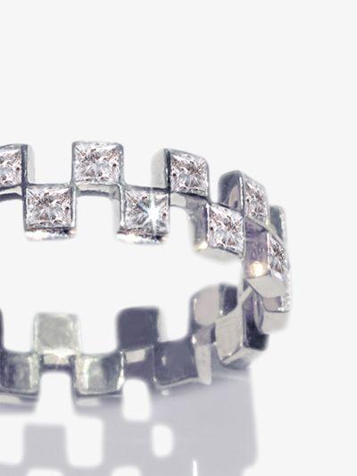18K white gold Anerise diamond ring