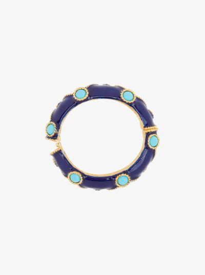 blue gemstone bangle