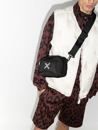 Black Active Cross Body Bag