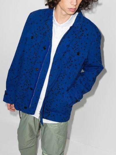 Cheetah Print Workwear Jacket
