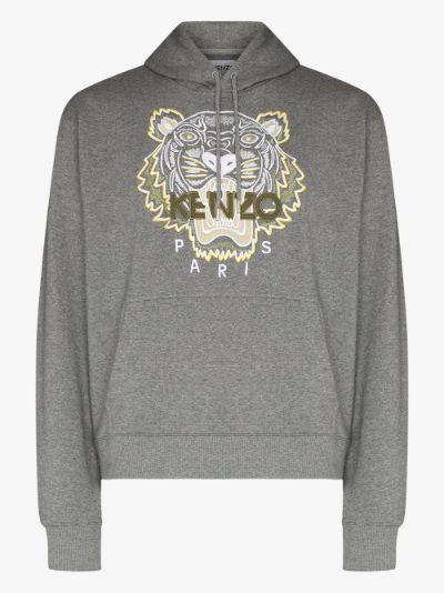 classic tiger logo hoodie
