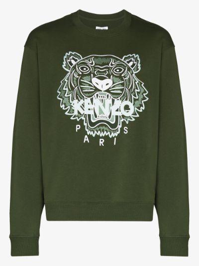 classic tiger logo sweatshirt