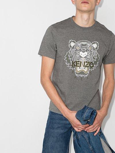 Tiger motif T-shirt