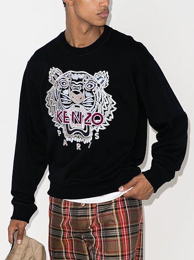 Varsity Tiger cotton sweatshirt