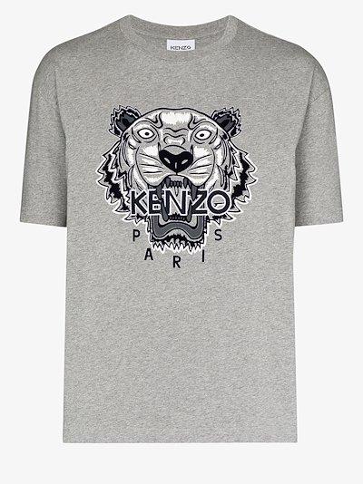 varsity tiger cotton T-shirt
