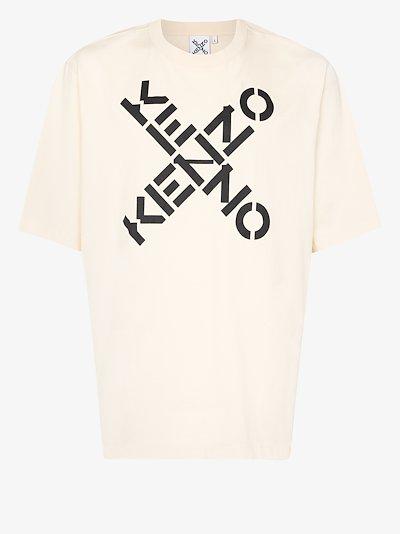 X logo cotton T-shirt