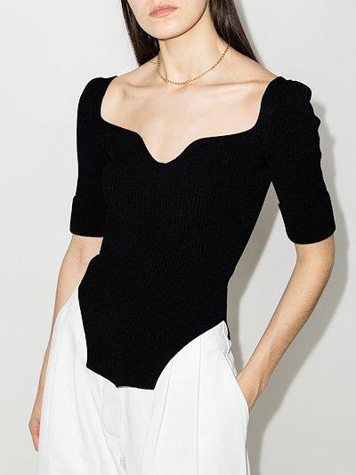 Irina ribbed knit top