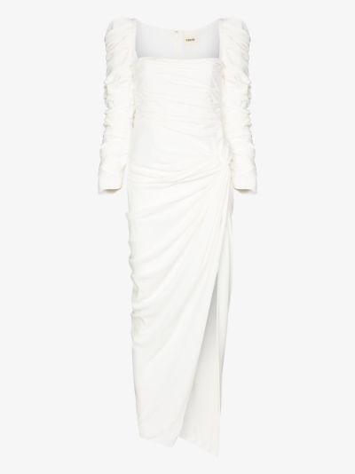 Shawna puff sleeve gown