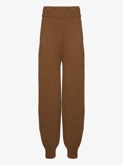 X Browns 50 high waist wool trousers