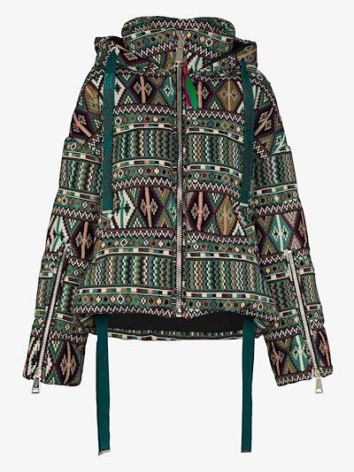 Khris printed puffer jacket