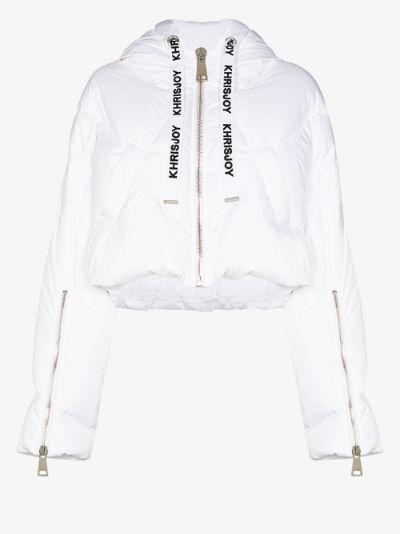 Khris Shorty cropped puffer jacket