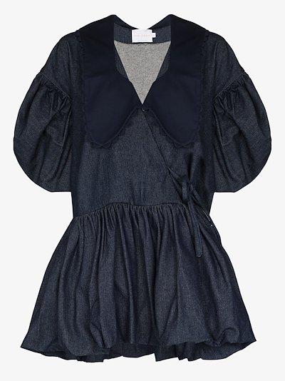 Victoria Denim mini Dress