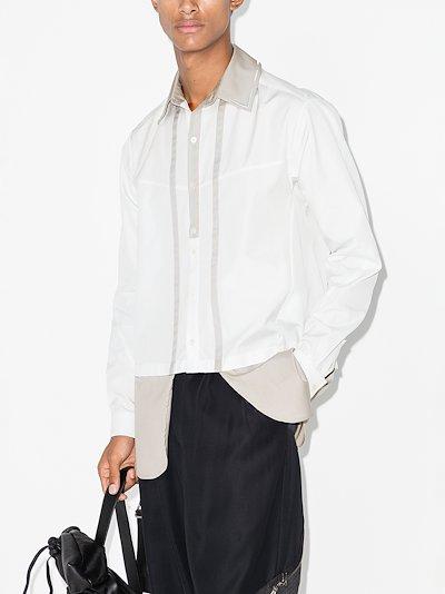 Ines layered shirt