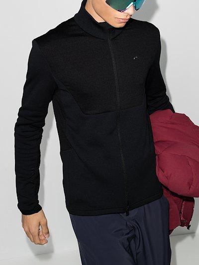 black 7SPHERE II midlayer jacket