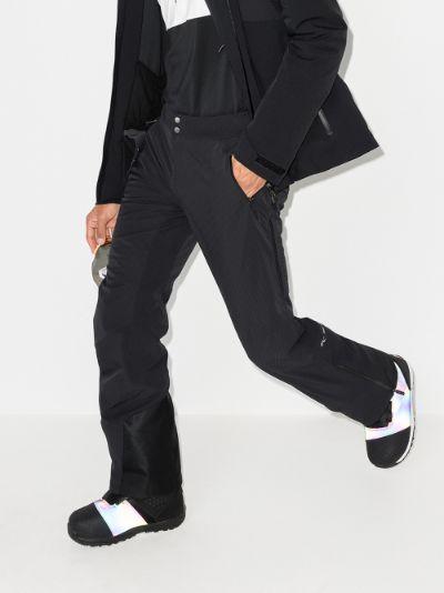 black Evolve performance track trousers
