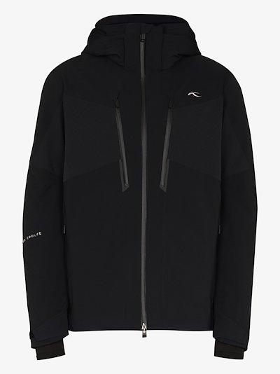 black Evolve zipped jacket