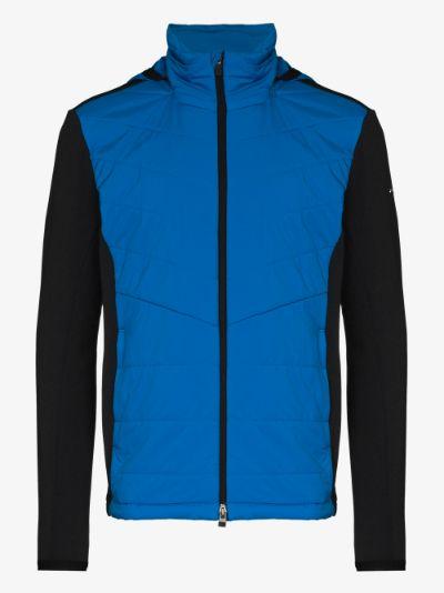 blue Badus hooded jacket