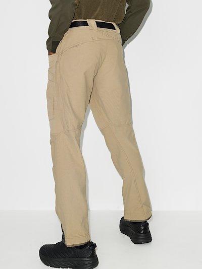 beige Gere 2 straight leg performance trousers