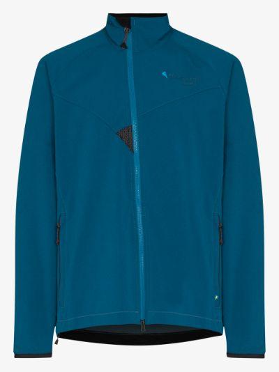blue Mithril windbreaker jacket