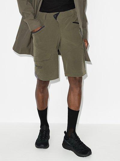 green Magne 2 trail shorts