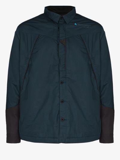 navy Austre windproof trail jacket