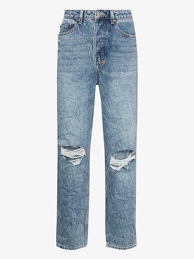 Bullet Vibez relaxed stonewash jeans