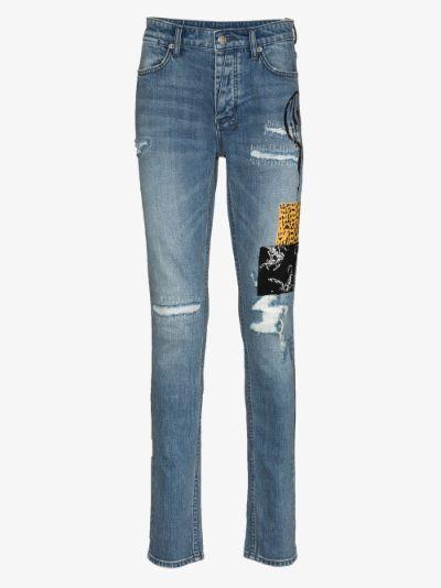 conscious deadstock Van Winkle Skinny Jeans