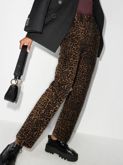Dynamo leopard print jeans