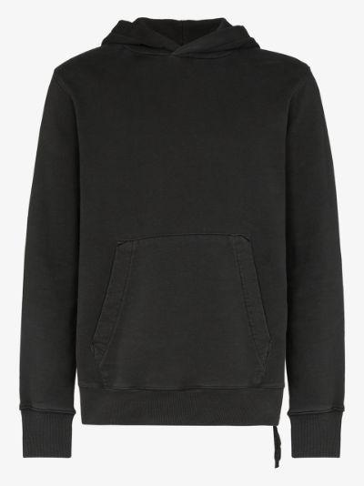 Seeing Lines cotton hoodie