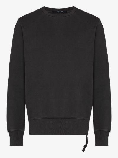 Seeing Lines cotton sweatshirt