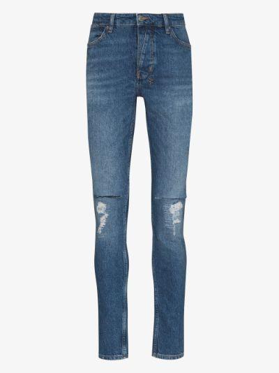 Van Winkle Blazed Trash skinny jeans